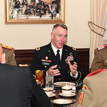 Director of the Army Staff Lt. Gen. Gary Cheek hosts a luncheon at the Pentagon in Arlington, Va., Feb. 7, 2017. (U.S. Army photo by Spc. Tammy Nooner/Released)