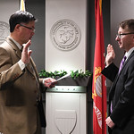 An induction ceremony was held in honor of Mr. Thomas Sasala at the Pentagon in Arlington, Va., Feb. 10, 2017. (U.S. Army photo by Spc. Tammy Nooner/Released)