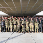 Members of the 2017 United Kingdom and U.S. Army Staff Talks pose for a group photo at Joint Base Myer Henderson Hall, Arlington, Va., Feb. 2, 2017. (U.S. Army photo by Spc. Tammy Nooner/Rel ...