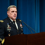 Chief of Staff of the U.S. Army Gen. Mark A. Milley hosts a farewell ceremony in honor of Secretary of the U.S. Army Eric K. Fanning at the Pentagon in Arlington, Va., Jan. 18, 2017. (U.S. A ...